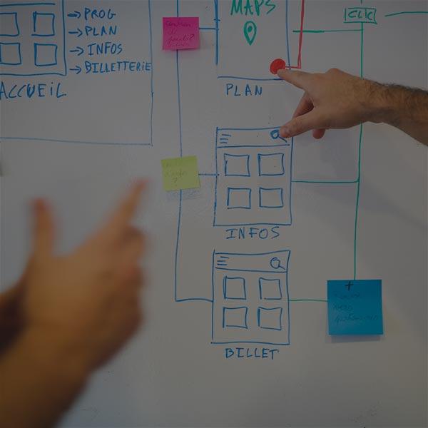 idealcoms agence web : ergonomie et design web (UX/UI).